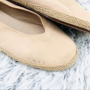 Eileen Fisher Shoes - Eileen Fisher Leather Espadrille Flats